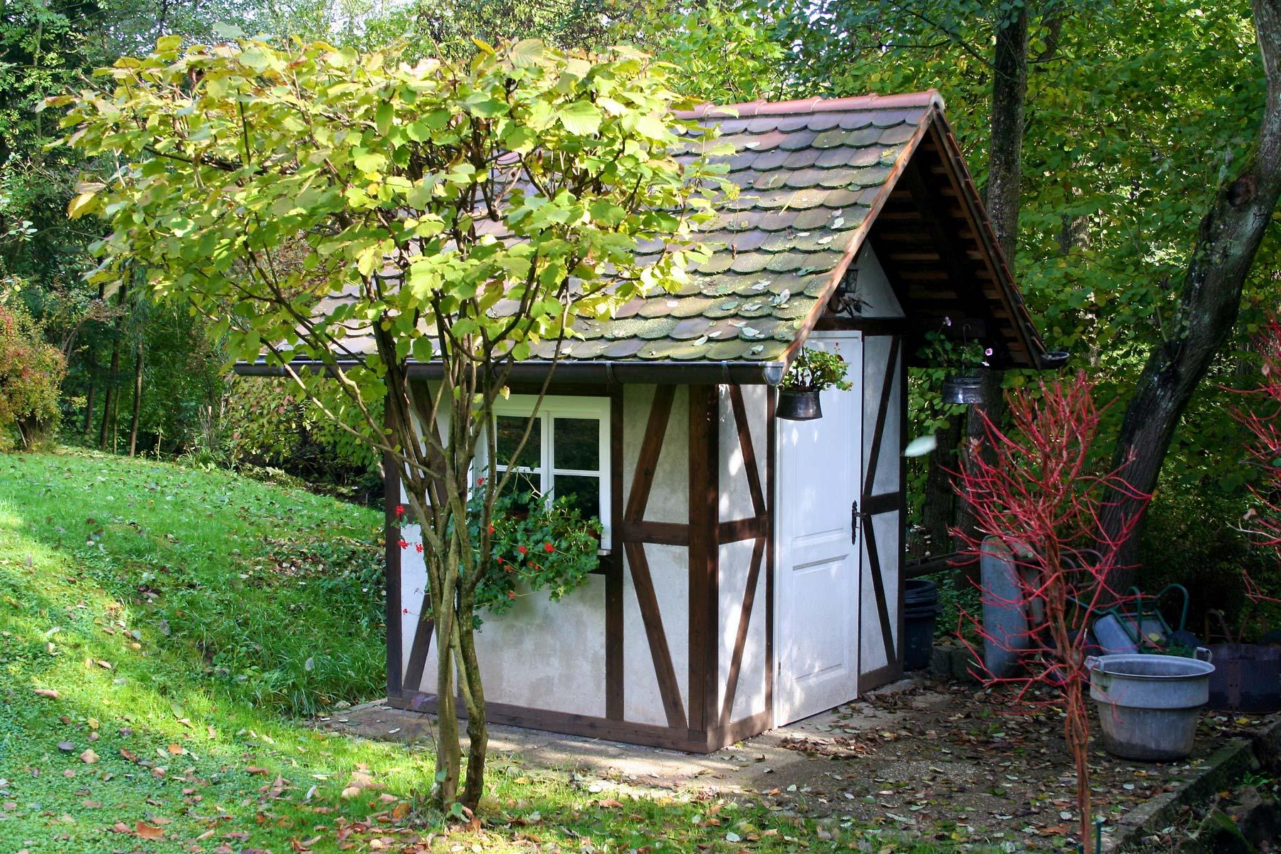 gartenhaus in fachwerkbauweise my blog. Black Bedroom Furniture Sets. Home Design Ideas